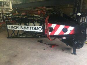 Repair Hitachi Sumitomo SCX1500 crawler crane 3