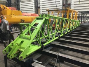 repair telescopic crane Grove GMK 5130